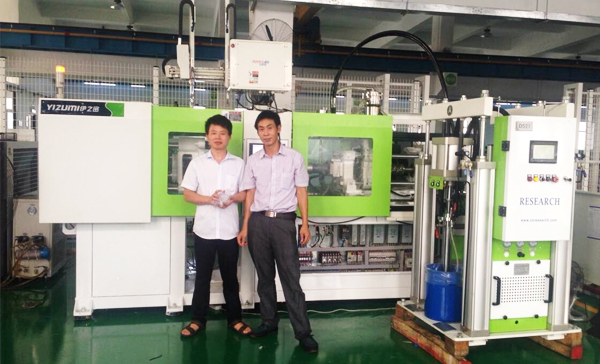 LSR full electric injection molding experiment